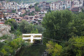 View from old town Veliko Tarnovo — Stock Photo