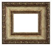 Złota ramka — Zdjęcie stockowe