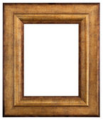 Gold picture frame — Stock Photo