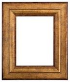 Rámeček zlatý obrázku — Stock fotografie