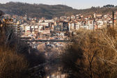 Stambolov bridge over the Yantra, Veliko Tarnovo, Bulgaria — Stock Photo
