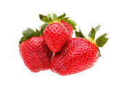 Strawberries berry isolated on white background  — Stock Photo