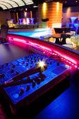 Dj mixer in a night club — Stock Photo