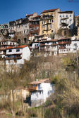 Reflection in the water of Veliko Tarnovo — Stock Photo