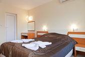 Diseño de interiores: pequeña habitación en un hotel. — Foto de Stock