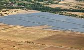 Photovoltaic power station near Kazanlak — Stock Photo