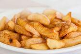 Closeup of a pile of bulgarian potato fries  — Stock Photo