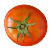 Tomato top view — Стоковое фото