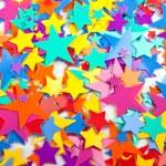 Multicoloured confetti stars — Stock Photo #28588041
