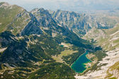 Beautiful mountain landscape. Skrka Lake in National park Durmit — Stock Photo