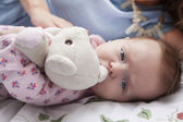 Beautiful smiling cute baby — Stock Photo