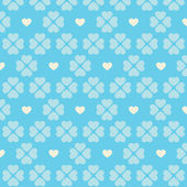 Seamless beige heart pattern — Vector de stock
