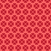 Seamless pink heart pattern — Vector de stock