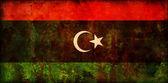 Bandiera della libia — Foto Stock