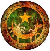 Mauritania coat of arms — Stock Photo