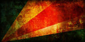 Drapeau des seychelles — Photo