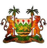 Sierra leone coat of arms — Stock fotografie