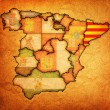 Region of catalonia — Stock Photo