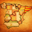 Stock Photo: Region of catalonia