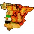 Region of extremadura — Stock Photo