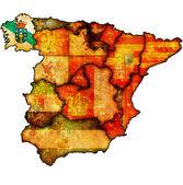 Region of galicia — Stock Photo