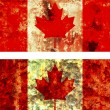 Old flag of canada — Stock Photo #1742096