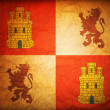 Symbol of castilla leon — Stock Photo