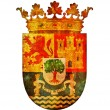Symbol of extremadura — Stock Photo