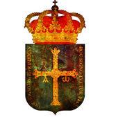 Symbol asturii — Zdjęcie stockowe