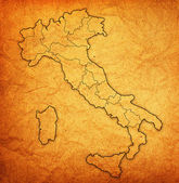 Map of italy — Foto de Stock
