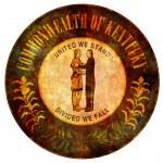 Kentucky coat of arms — Stock Photo #38709107