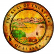 Alaska coat of arms — Stock Photo