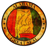 Alabama coat of arms — Stock Photo