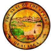 Alaska coat of arms — Stock Photo
