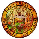 Idaho coat of arms — Stock Photo