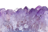 Rough amethyst — Stock Photo