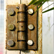 Old Rusty Hinge — Stock Photo #16164925