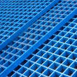 Industrial Blue Plastic Stacks — Stock Photo #17885593
