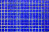 Deep Blue mosaic tiled wall — Stock Photo
