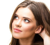 Young woman isolated portrait — Stock Photo