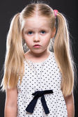 Little girl close up portrait — Stock Photo