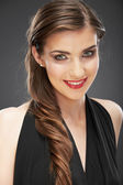Closeup beauty studio shoot. — Stock Photo