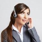 Call center operator — Stock Photo #34467605