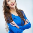 Smiling woman — Stock Photo