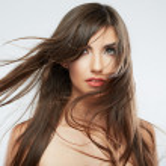 Woman fashion hair style portrait — Stock Photo