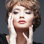 Close up portrait of woman — Stock Photo
