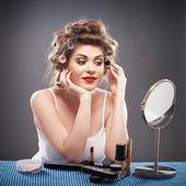 Woman beauty style portrait — Stock Photo