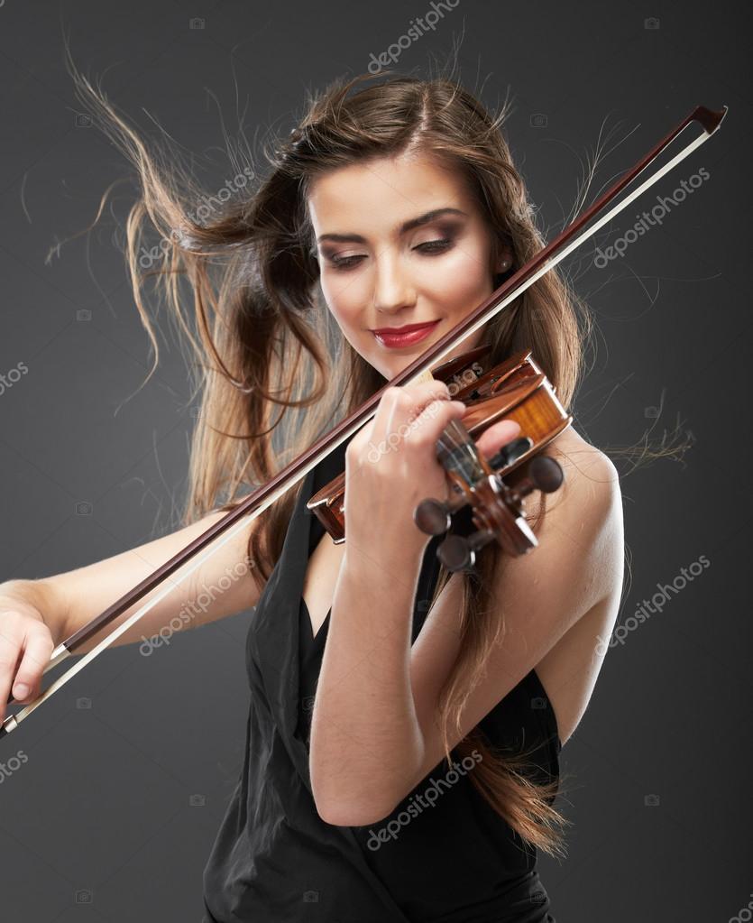Resultado de imagen para Una mujer tocando el violín