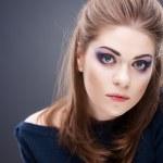 Beautiful young woman face — Stock Photo #34535189