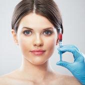 女性と手術 — ストック写真